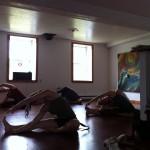 Yoga dans le Studio