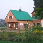 Grange - Studio vue du jardin
